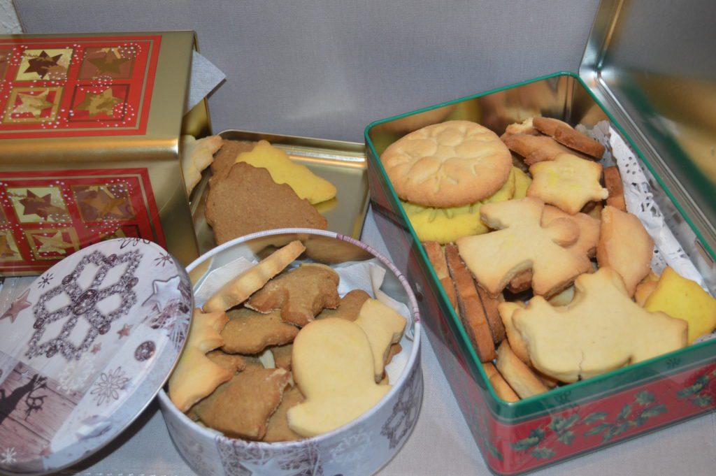 Caja de galletas de mantequilla