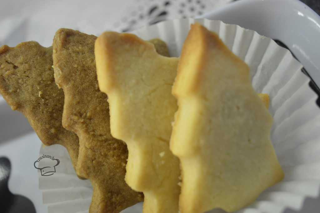 Galletas de mantequilla de Navidad