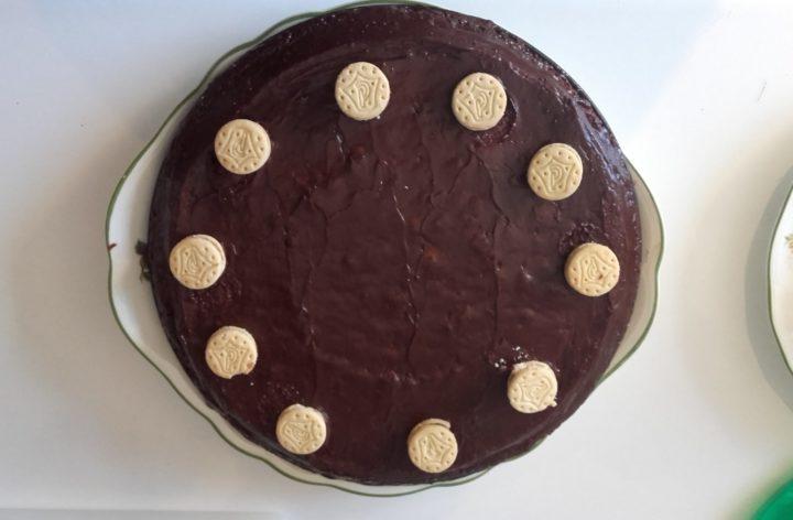 Tarta de galletas príncipe