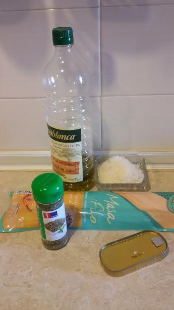 Ingredientes philopizza de anchoa