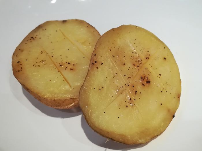 patata asada en el horno