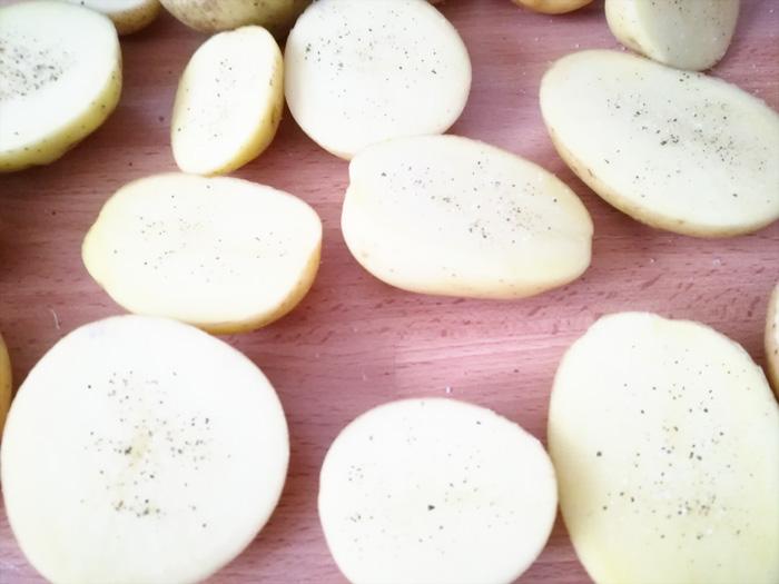 patatas con sal y pimienta