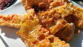 pa de vidre amb tomaquet