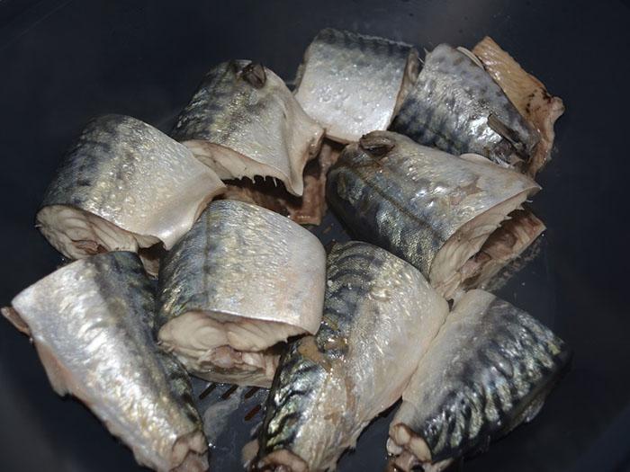 pescado cocido en thermomix