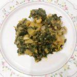 acelgas con patata y pimenton