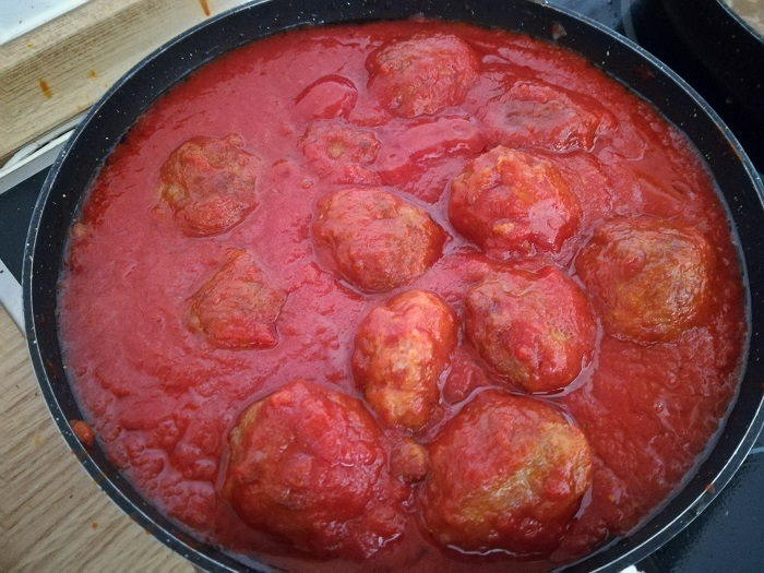 albondigas de tomate