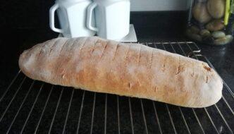 barra de pan especial para torrijas