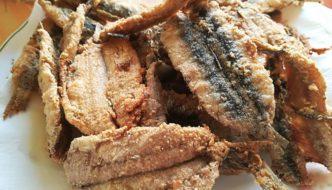 ración de boquerón frito