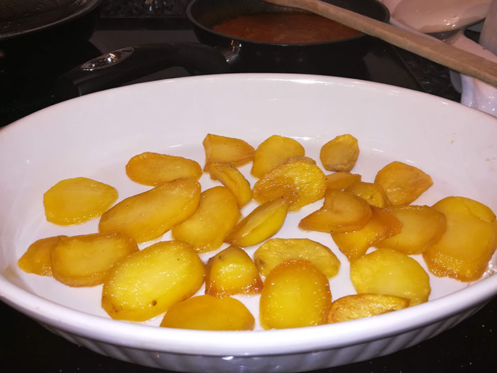 cama de patata