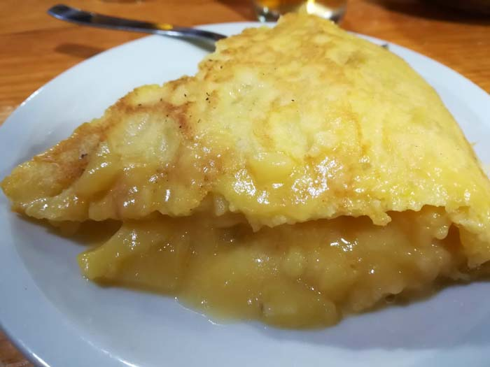 bar carballo tortilla de patata