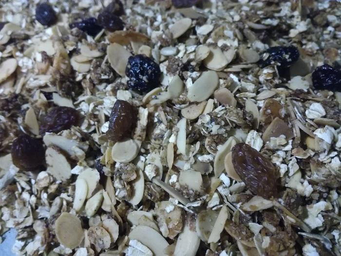 Preparar en casa granola
