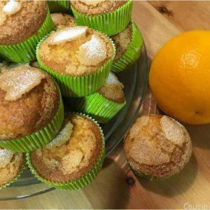 cupcakes sabor naranja