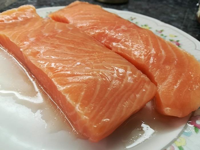 lomos de salmon para plancha