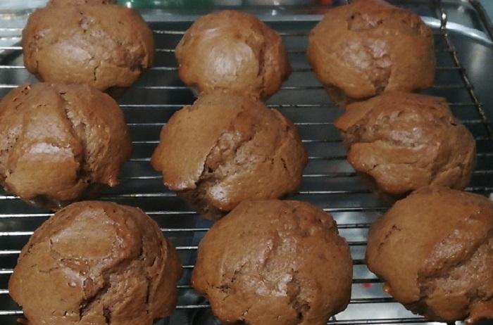 dejar enfriar las magdalenas de chocolate