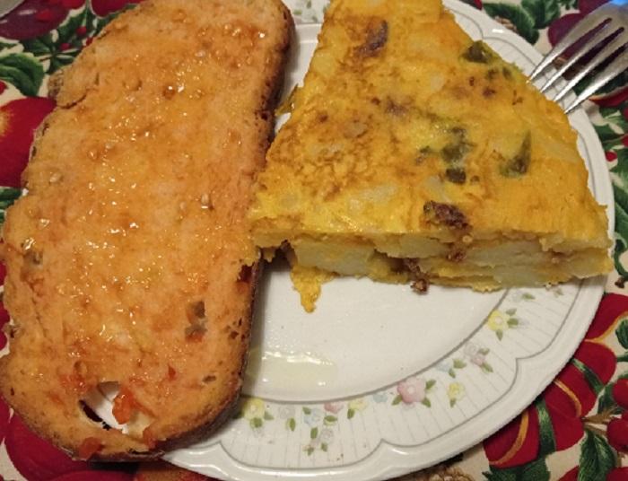 pa tumaca y tortilla choricera