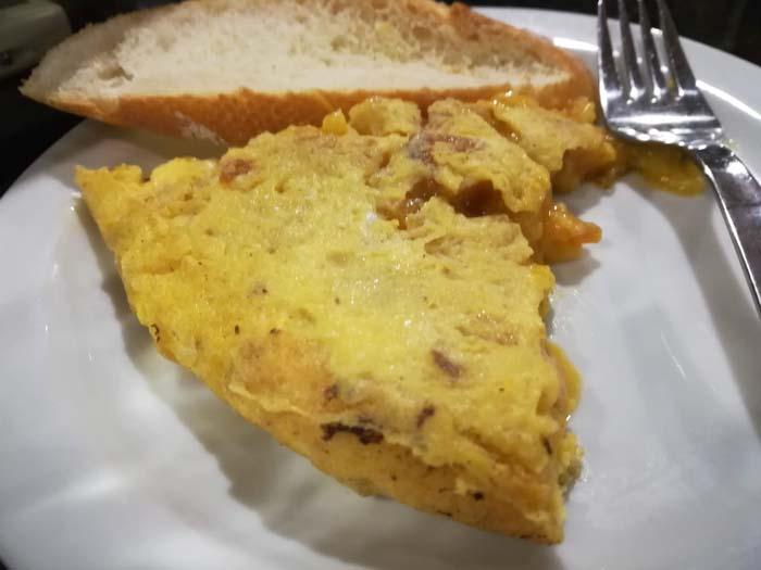 tortilla de patatas en santander catavinos