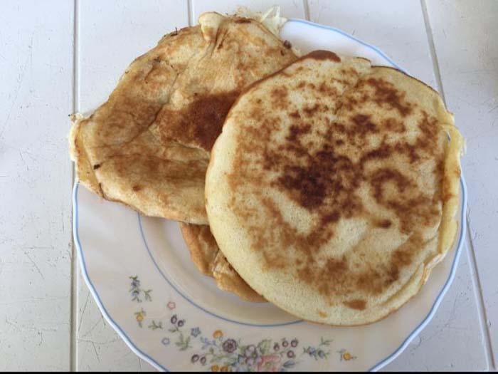 tortitas caseras o pancakes